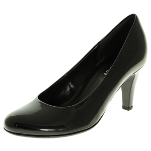 Gabor - 210.77 Patent Court Shoe, Black