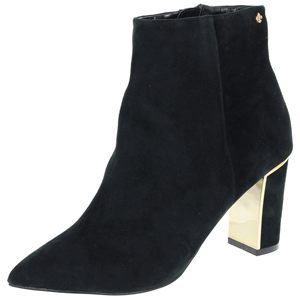 Amy Huberman - Chasing Amy Heeled Ankle Boot, Black