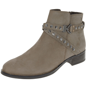 Caprice - 25318 Nubuck Ankle Boot, Taupe