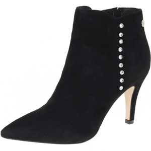 Caprice - 25341, Suede Ankle Boot, Black