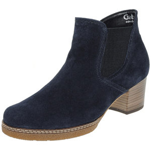 Gabor - 661.36 Suede Ankle Boot, Navy