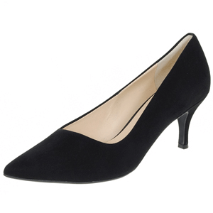Hogl - 6142 Suede Court Shoe, Black