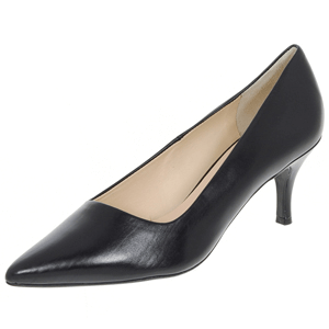 Hogl - 6143 Leather Court Shoe, Black