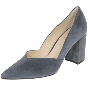 Hogl - 7502 Suede Court Shoe, Dark Grey