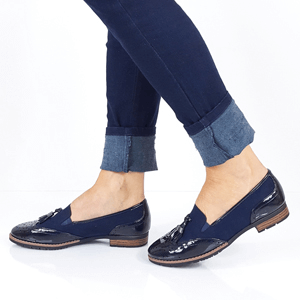 Jana - Soft Line 24260 Slip-On Loafer, Navy