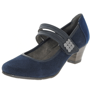 Jana - 24331 Mary Jane Court Shoe, Navy