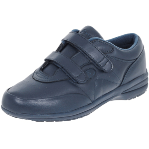 Propet - W3845 Leather Trainer, Navy