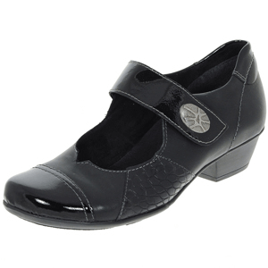 Remonte - D7346-02 Mary Jane Shoe, Black