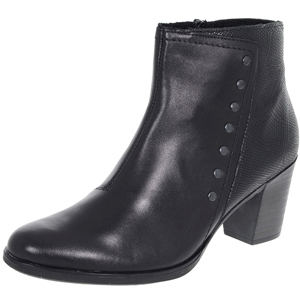 Rieker - Y8957-00 Leather Ankle Boot, Black