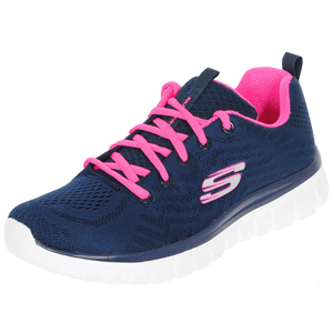 Skechers - Graceful - Get Connected Trainer, Navy