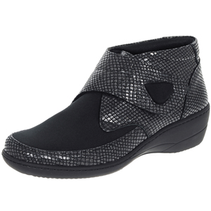 Softmode - Evelyn Wide Fit Ankle Boot, Black