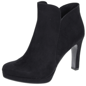 Tamaris 25316 Heeled Ankle Boot, Black