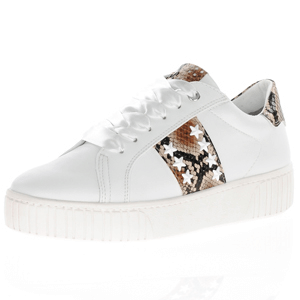 Marco Tozzi - 23735 Lace Up Trainer, White
