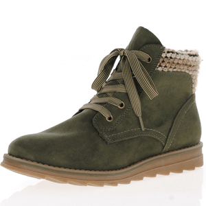 Marco Tozzi - 25208 Lace Up Ankle Boot, Khaki