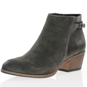Marco Tozzi - 25317 Low Heel Ankle Boot, Grey