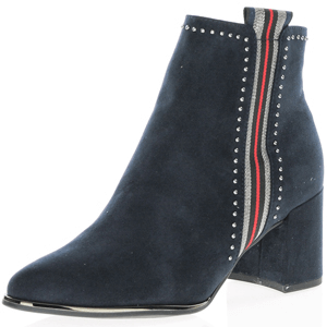 Marco Tozzi - 25379 Heeled Ankle Boot, Navy