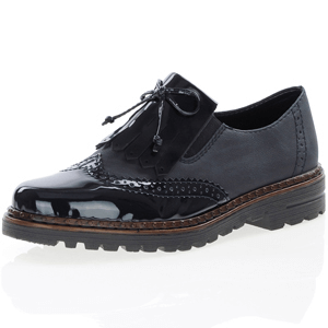 Rieker - 54872-14 Patent Brogue, Navy