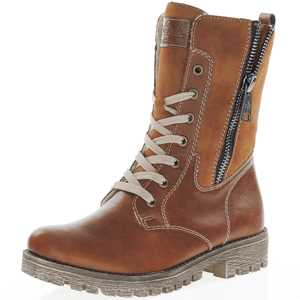 Rieker - 785K1-25 Lace Up Ankle Boot, Tan