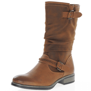 Rieker - 98860-22 Mid Length Boot, Tan