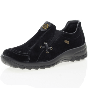 Rieker - L7171-00 Water Resistant Shoes, Black