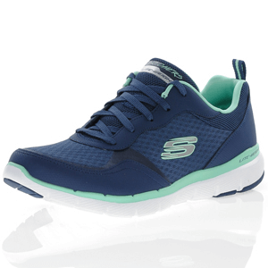 Skechers - Flex Appeal 3.0 Go Forward Trainer, Navy