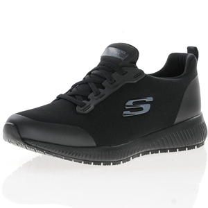 Skechers - Squad SR Work Shoe, Black