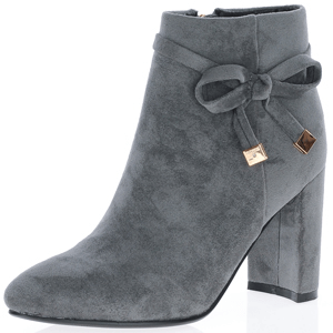 Susst - Bella Dressy Ankle Boot, Grey