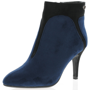Susst - Cheryl Ankle Boot, Navy - Black