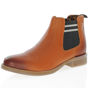 s.Oliver - 25335 Leather Chelsea Boot, Cognac
