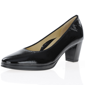 Ara - 13436 Patent Court Shoe, Black