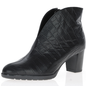 Ara - 13492 V-Cut Ankle boots, Black