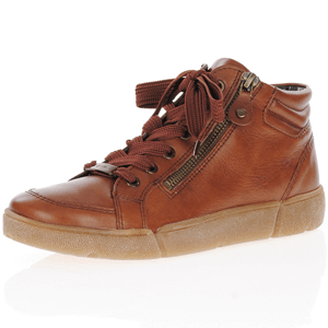 Ara - 14435 Lace Up Ankle Boots, Cognac