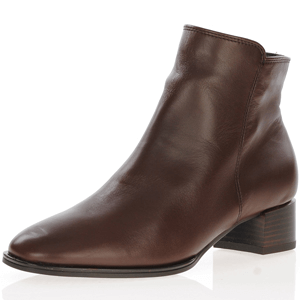 Ara - 16660 Leather Ankle boot, Brown