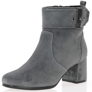 Caprice - 25330 Dressy Ankle Boots, Granite