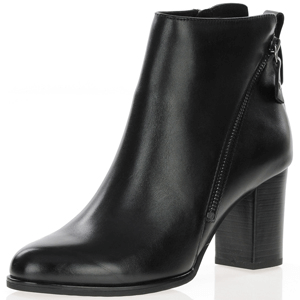 Caprice - 25344 Leather Ankle Boot, Black
