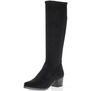Caprice - 25506 Knee High Sock Boots, Black