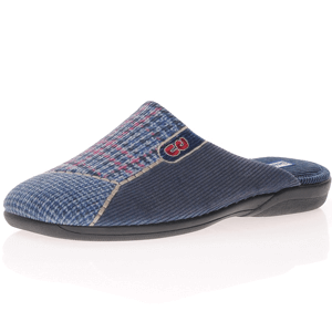 DeValverde - 3082 Men's Slippers, Navy