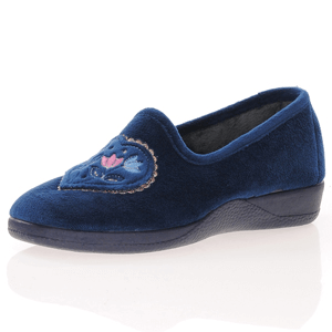 DeValverde - 1002 Slippers, Navy