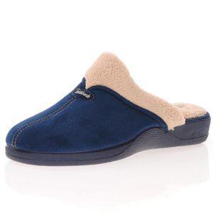 DeValverde - 1123 Slippers, Navy