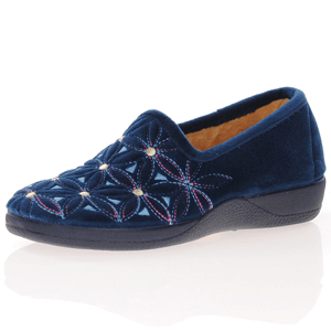 DeValverde - 148 Slippers, Navy