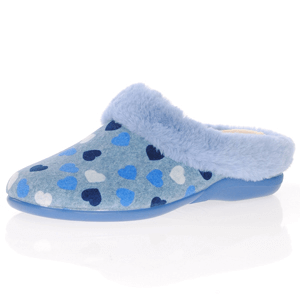DeValverde - 6028 Slippers, Blue