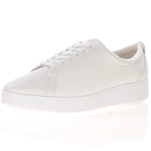 Fitflop - Rally Lace Up Trainer, All White