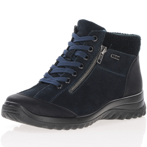 G-Comfort - 10211 Waterproof Ankle Boots, Navy