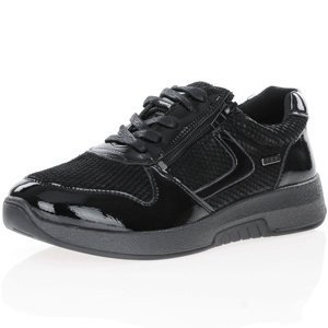 G-Comfort - 5188 Waterproof Patent Shoes, Black