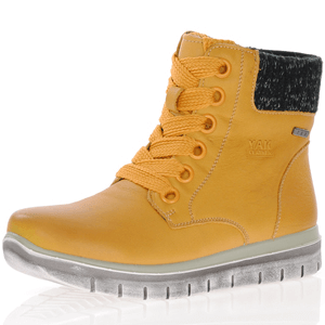 G-Comfort - 929-5 Waterproof Ankle Boots, Yellow