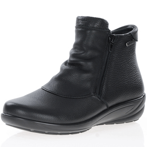 G-Comfort - 9521 Waterproof Ankle Boots, Black