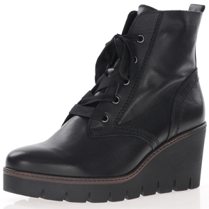 Gabor - 782.27 Wedge Ankle Boot, Black