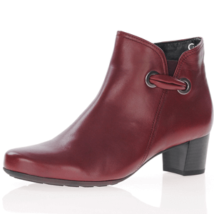 Gabor - 827.58 Dressy Ankle Boot, Dark Red