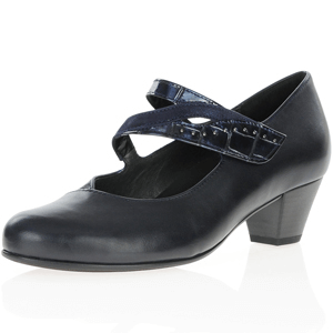 Gabor - 146.66 Mary Jane Shoe, Dark Navy