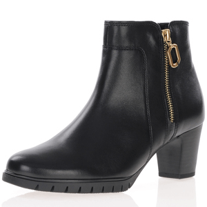 Gabor - 591.67 Leather Ankle Boots, Black